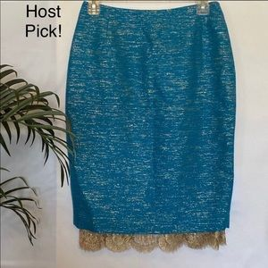 Tracy Reese Pencil Skirt Wool Size 2